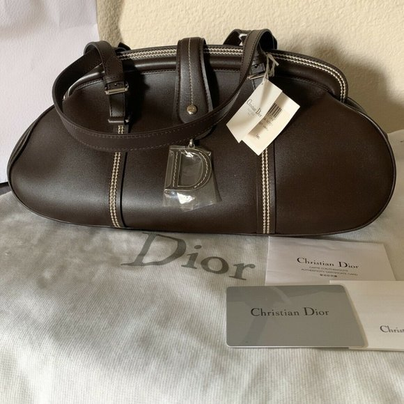 Dior Handbags - NEW Christian Dior Paris Leather  Detective Bag